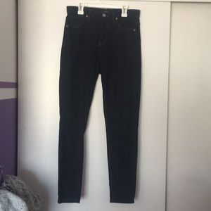 Black Jeans with brown accents